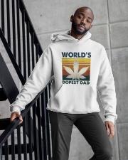 World's Dopest Dad Hooded Sweatshirt apparel-hooded-sweatshirt-lifestyle-front-10
