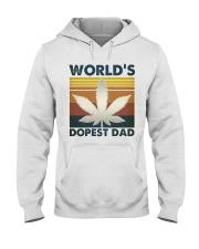 World's Dopest Dad Hooded Sweatshirt front
