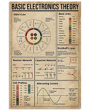 Basic Electronics Theory 11x17 Poster front