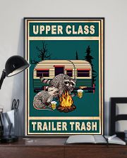 Raccoon Camping Upper Class Trailer Trash 11x17 Poster lifestyle-poster-2
