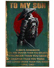 Samurai 11x17 Poster front