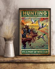 Duck Hunting Isn't Just Something 11x17 Poster lifestyle-poster-3