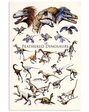 Feathered Dinosaurs II 11x17 Poster front