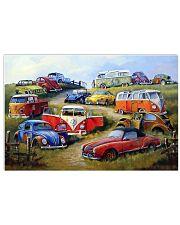 Campervan Type 2 17x11 Poster front