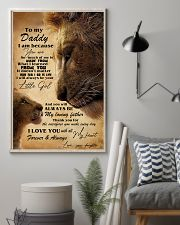 You Can't Scare Me I Have A Freakin' Awesome Son 11x17 Poster lifestyle-poster-1