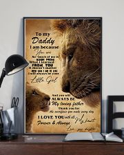 You Can't Scare Me I Have A Freakin' Awesome Son 11x17 Poster lifestyle-poster-2