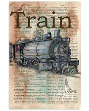 Dictionary Page Definition Train 11x17 Poster front