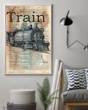 Dictionary Page Definition Train 11x17 Poster lifestyle-poster-1
