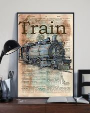 Dictionary Page Definition Train 11x17 Poster lifestyle-poster-2