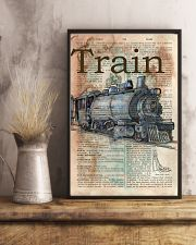 Dictionary Page Definition Train 11x17 Poster lifestyle-poster-3