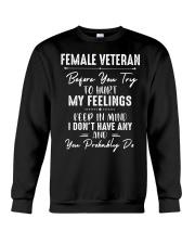 Female Veteran Crewneck Sweatshirt tile