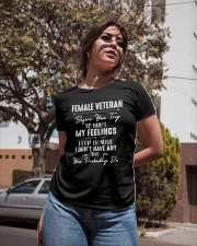 Female Veteran Ladies T-Shirt apparel-ladies-t-shirt-lifestyle-02