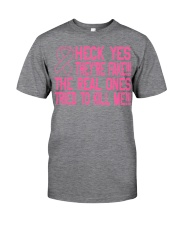 The real ones tried to kill me Classic T-Shirt thumbnail