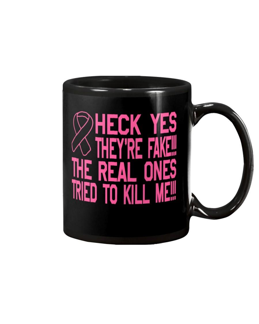 The real ones tried to kill me Mug