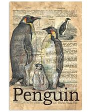 Dictionary Page Definition Penguins 11x17 Poster front
