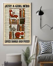 Books And Foxes 11x17 Poster lifestyle-poster-1
