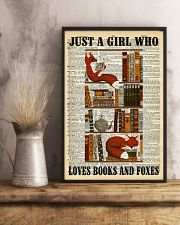 Books And Foxes 11x17 Poster lifestyle-poster-3