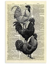 Roosters Dictionary 11x17 Poster front