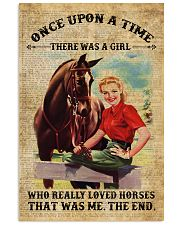 Girl Love Horses 11x17 Poster front