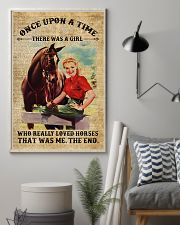 Girl Love Horses 11x17 Poster lifestyle-poster-1