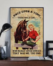 Girl Love Horses 11x17 Poster lifestyle-poster-2