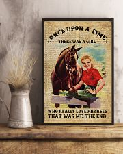 Girl Love Horses 11x17 Poster lifestyle-poster-3