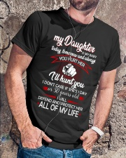 My Daughter Is My Baby Classic T-Shirt lifestyle-mens-crewneck-front-4
