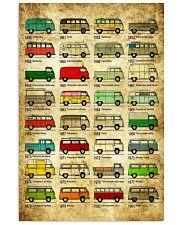 Campervan 11x17 Poster front