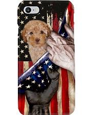 Love Poodle United State Flag Phone Case i-phone-8-case