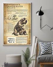 Prehistoric Animals Jefferson's Ground Sloth 11x17 Poster lifestyle-poster-1