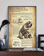 Prehistoric Animals Jefferson's Ground Sloth 11x17 Poster lifestyle-poster-2