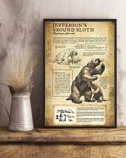 Prehistoric Animals Jefferson's Ground Sloth 11x17 Poster lifestyle-poster-3
