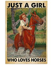Horse Happily 11x17 Poster front