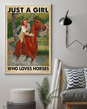 Horse Happily 11x17 Poster lifestyle-poster-1