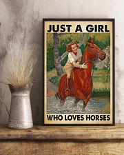 Horse Happily 11x17 Poster lifestyle-poster-3