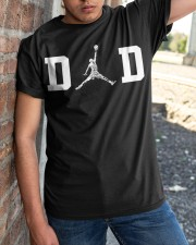Dad and Basketball Classic T-Shirt apparel-classic-tshirt-lifestyle-27