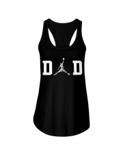 Dad and Basketball Ladies Flowy Tank thumbnail