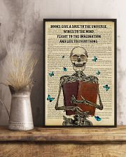 Books Give A Soul 11x17 Poster lifestyle-poster-3