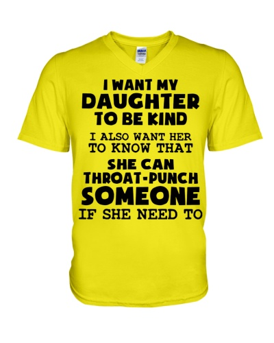 I Want My Daughter To Be Kind