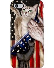 Love Singapura Cat United State Flag Phone Case i-phone-8-case
