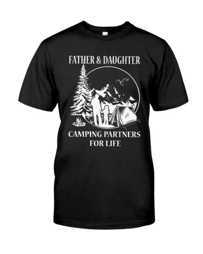 FATHER AND DAUGHTER CAMPING PARTNERS FOR LIFE
