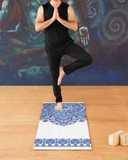 Yoga Mandala Yoga Mat 24x70 (vertical) aos-yoga-mat-lifestyle-03