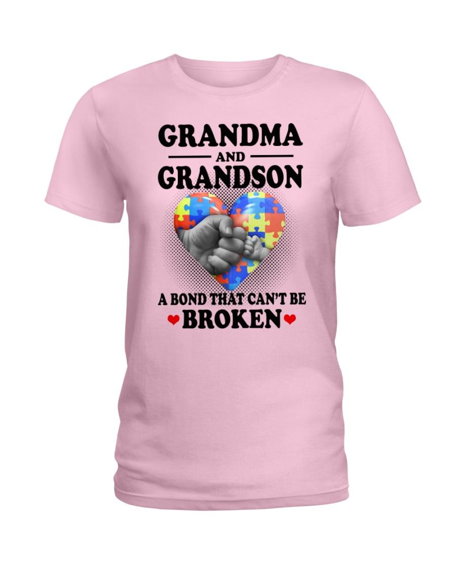 Grandma And Grandson  Ladies T-Shirt