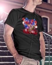 Love Bengal Cat Classic T-Shirt lifestyle-mens-crewneck-front-5