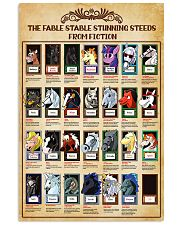 The Fable Stable Stunning Steeds From Fiction 11x17 Poster front