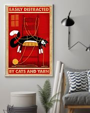 Black Cat And Yarn 11x17 Poster lifestyle-poster-1