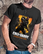 Gamer Dad Call of Daddy Classic T-Shirt lifestyle-mens-crewneck-front-4