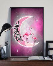Love Flamingo 11x17 Poster lifestyle-poster-2