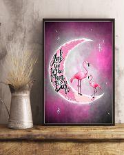Love Flamingo 11x17 Poster lifestyle-poster-3