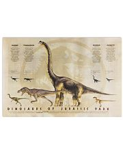 Dinosaurs of Jurassic Park Vintage 1993 17x11 Poster front